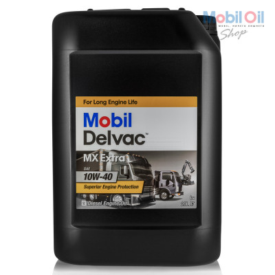 Масло моторное Mobil DELVAC MX EXTRA SAE 10W-40 (20л)