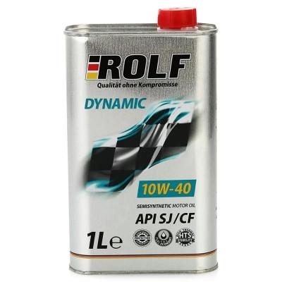 Масло моторное Rolf Dynamic SAE 10W-40 SJ/CF (1л)