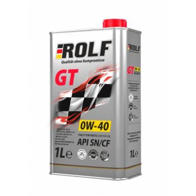 Масло моторное Rolf GT SAE 0W-40 (1л)