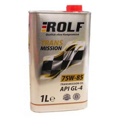 Масло трансмиссионное Rolf Transmission SAE 75W-85 API GL-4 (1л)