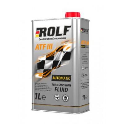 Масло трансмиссионное Rolf ATF III (1л)