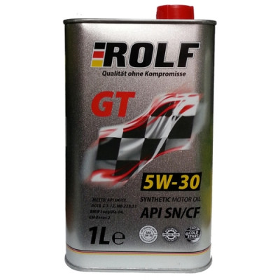 Масло моторное Rolf GT SAE 5W-30 SN/CF (1л)