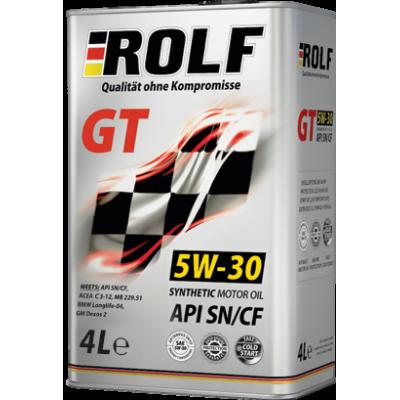 Масло моторное Rolf GT SAE 5W-30 SN/CF (4л)