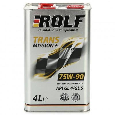 Масло трансмиссионное Rolf Transmission SAE 75W-90 API GL-4 (4л)
