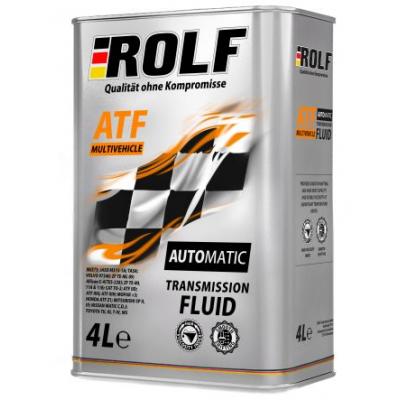 Масло трансмиссионное Rolf ATF Multivehicle (4л)