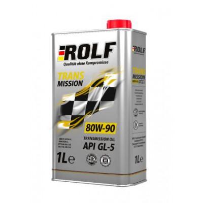 Масло трансмиссионное Rolf Transmission SAE 80W-90 API GL-5 (1л)
