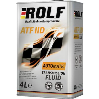 Масло трансмиссионное Rolf ATF IID (4л)