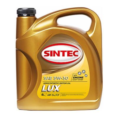 Масло моторное Sintec ЛЮКС SAE 10W-40 API SL/CF (4л)