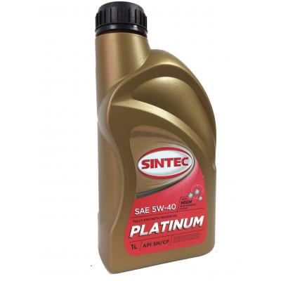 Масло моторное Sintec PLATINUM SAE 5W-40 API SN/CF (1л)