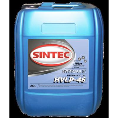 Масло гидровлическое Sintec HVLP 46 (20л)