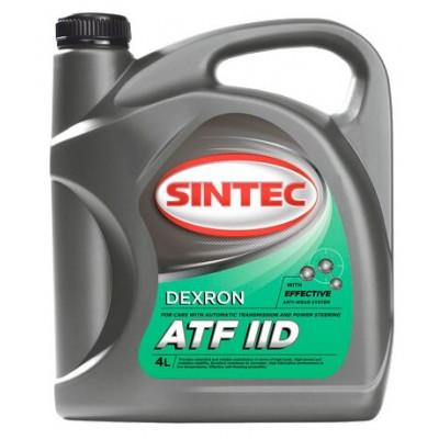 Масло трансмиссионное Sintec ATF II DEXRON (4л)