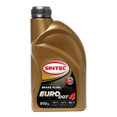 Жидкость тормозная Sintec Euro Dot-4 (910г)