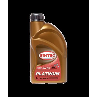 Масло моторное Sintec PLATINUM SAE 5W-30 API SN/CF (1л)