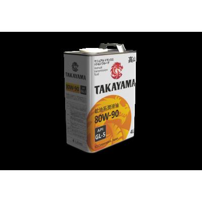 Масло трансмиссионное TAKAYAMA SAE 80W-90 (4л)
