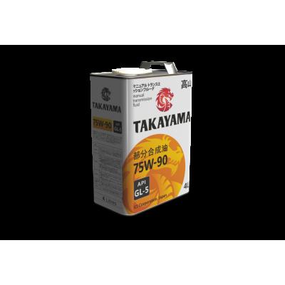 Масло трансмиссионное TAKAYAMA SAE 75W-90 (4л)