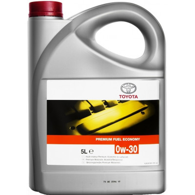 Масло моторное TOYOTA Premium Fuel Economy SAE 0W-30 A5/B5 SL (5л)