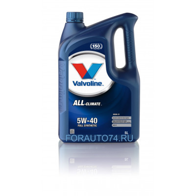 Масло моторное Valvoline All Climate C3 SAE 5W-40 (5л)