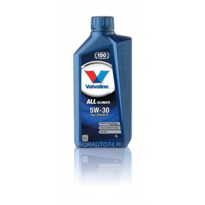 Масло моторное Valvoline All Climate SAE 5W-30 (1л)