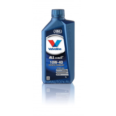 Масло моторное Valvoline All Climate Extra SAE 10W-40 (1л)