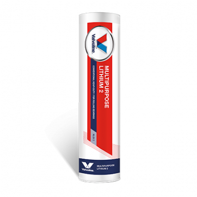 Литиевая смазка обычная Valvoline Multipurpose Lithium 2 (коричневая) (0,4кг)