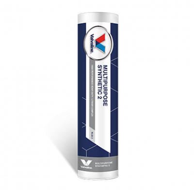 Литиевая смазка противозадирная Valvoline Multipurpose Synthetic 2 (бежевая) (0,4кг)