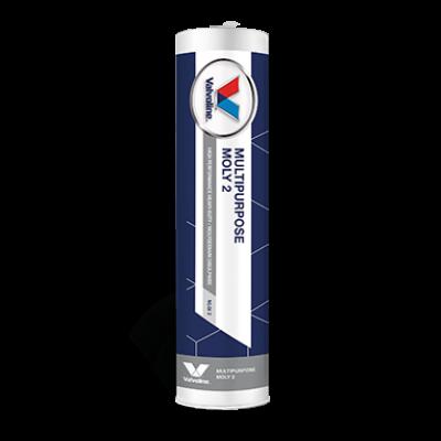 Литиевая смазка с молибденом Valvoline Multipurpose Moly 2 (серо-черная) (0,4кг)