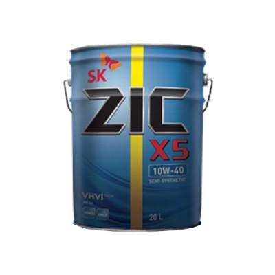 Масло моторное ZIC X5 SAE 10W-40 (20л)