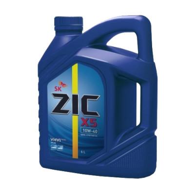 Масло моторное ZIC X5 SAE 10W-40 (6л)