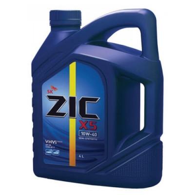 Масло моторное ZIC X5 SAE 10W-40 (4л)
