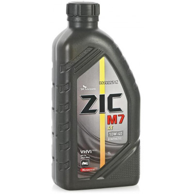 Масло моторное ZIC M7 4T SAE 10W-40 (1л)