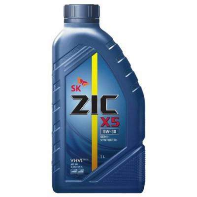 Масло моторное ZIC X5 SAE 5W-30 (1л)